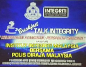Breakfast Talk Integrity