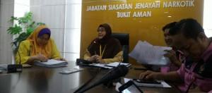 Pengerusi Mesyuarat YDH SAC  Sharifah Hawariah bt Syed Idrus
