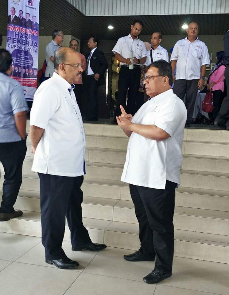 Tan Sri KSN bersama Tan Sri KPPA