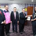 Kunjung Hormat Kepada Dato' KP Terengganu