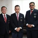 Timb. Presiden PACSU, Pengerusi PACSU Terengganu dan Pegawai Pelajaran PACSU