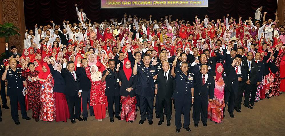 Perhimpunan Pegawai Awam PDRM Tahun 2018