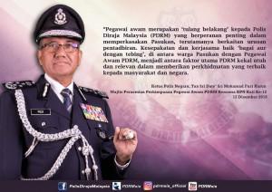 Ucapan KPN sempena Perhimpunan Pegawai Awam Tahun 2018