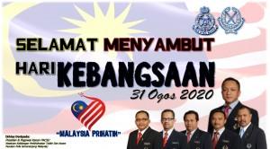 SELAMAT HARI KEBANGSAAN 2020
