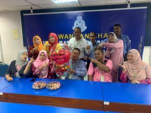 Meraikan Bekas Pengerusi PACSU Cawangan Kelantan